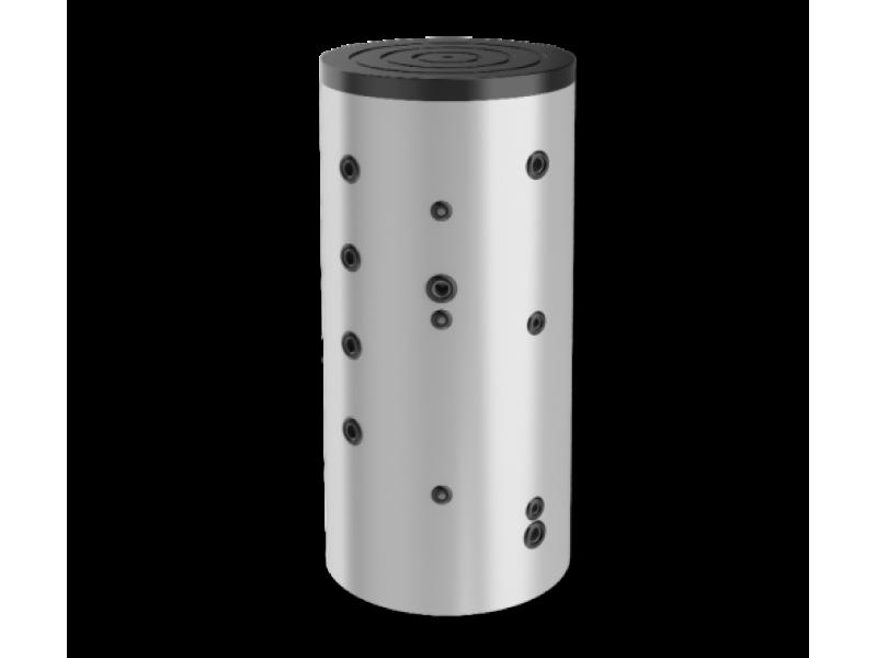 Буферен съд Eldom 750 л. неемайлиран, една серпентина BCS 750K