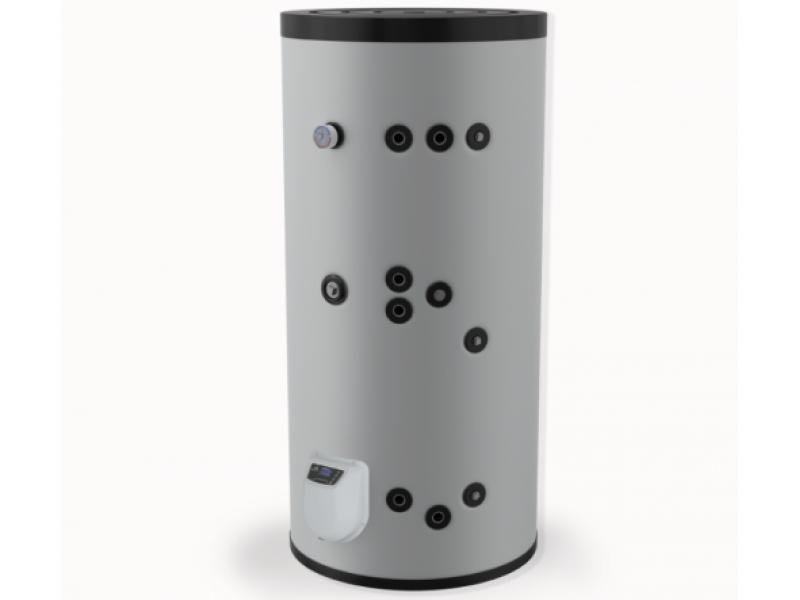 Бойлер Eldom 500 л. 9kW, стоящ, две серпентини, електронно управление, емайлиран FV50085S2E