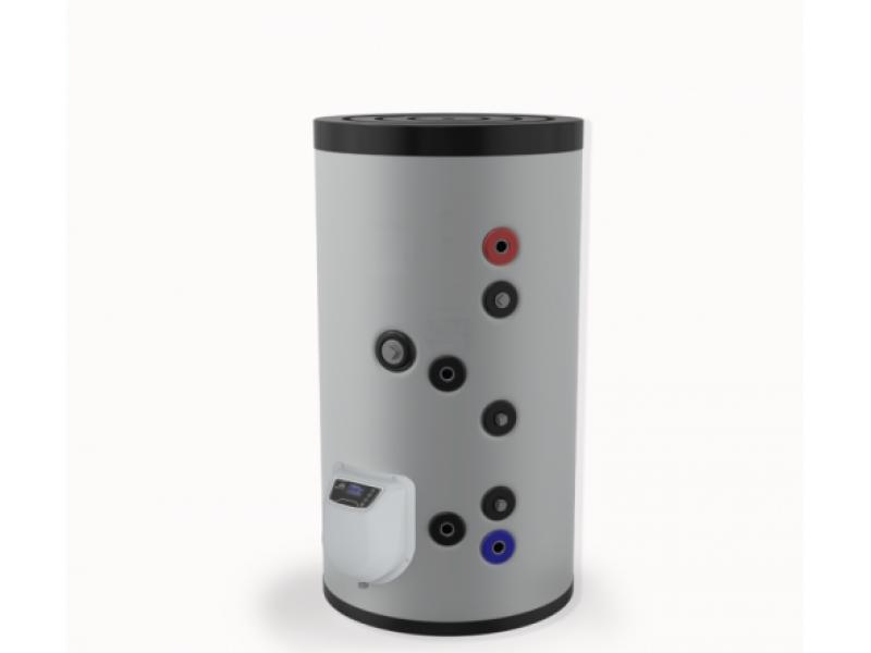 Бойлер Eldom 150 л. 3kW, стоящ, серпентинa, електронно управление, неръждаем FV15062ISE