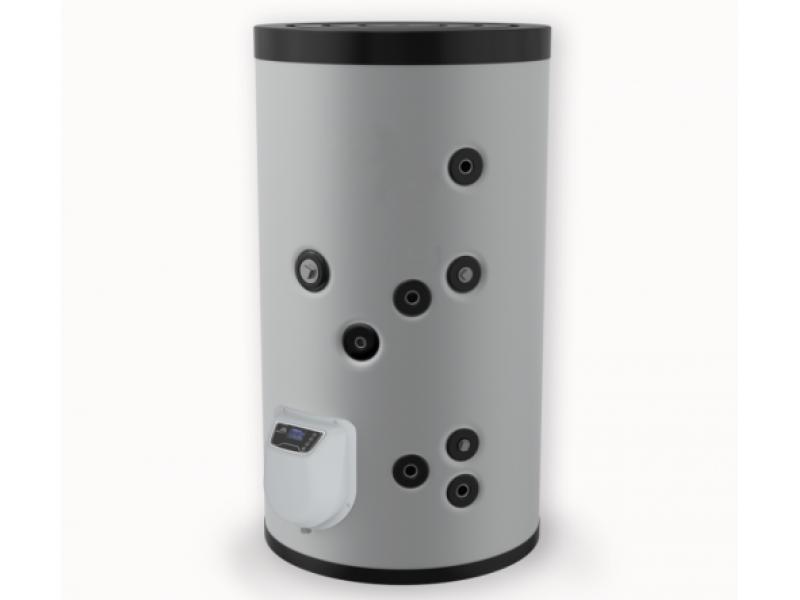 Бойлер Eldom 200 л. 3kW, стоящ, серпентинa, електронно управление, неръждаем FV20067ISE