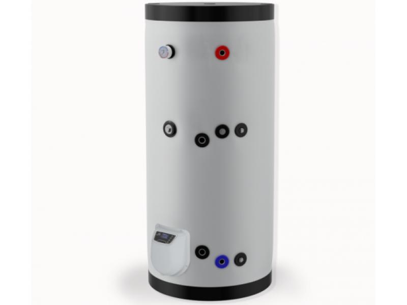 Бойлер Eldom 500 л. 9kW, стоящ, серпентинa, електронно управление, неръждаем FV50085ISE