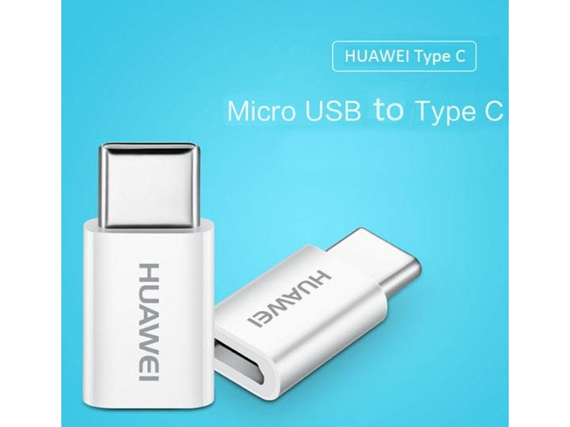 Адаптер Huawei 5V2A Micro USB To Type C Adapter