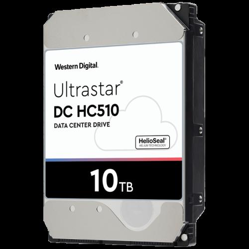 "HDD 10TB WD Ultrastar DC HC510 3.5"" SATAIII 256MB, Наследник на WD Gold (5 years warranty)"